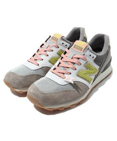 green label relaxing WOMENS of (green label relaxing Womens) [New Balance] new balance WR996 color combination sneakers (sneakers) | Gray
