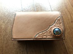 HABIT stamping wallet with glass