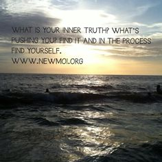 What is your inner truth? Eva Arissani. Author & Co-Founder of www.newmoi.org