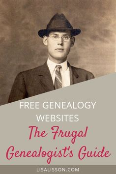 Free genealogy websites to help you save money while searching for your ancestors. Free genealogy records and websites to help you search for your ancestors and save money. It is possible to research genealogy frugally! Free Genealogy Sites, Genealogy Chart, Genealogy Research, Family Genealogy, Genealogy Humor, Lds Genealogy, Ancestry Free, Find My Ancestors, Genealogy Organization