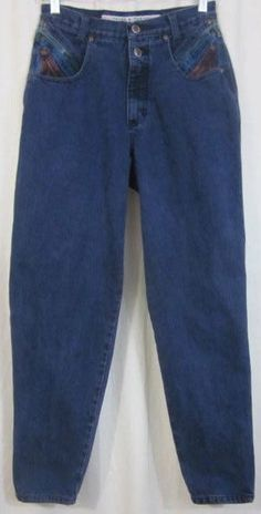 Zena Jeans Size 10 Tapered Leg 27x30 Free Shipping #Zena #TaperedLeg