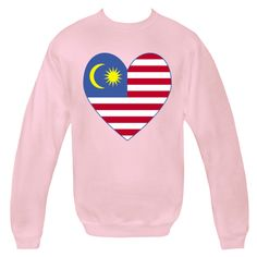 Design on products, merchandise, clothing, tees, T-shirts and baby and toddler stuff features a heart shaped flag of Malaysia, or Malaysian Flag. Sometimes, known as the Malay Flag. Fun way to honor and shore your love and pride in your ethnic heritage, culture and ancestry. Fun for travelers wanting to recall a trip, vacation or holiday. Peace Corp. volunteers may like to remember their assignment with this design. Great gifts for many occasions, including birthdays. $29.99 ...