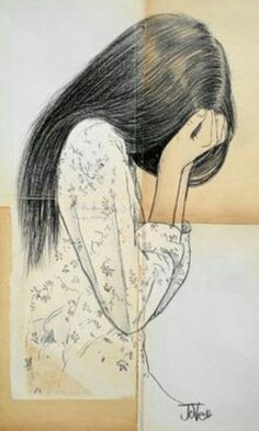 La tristeza.