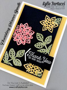 Stampin' Up! Australia: Kylie Bertucci Independent Demonstrator: Global Design Project 049 | Colour Challenge