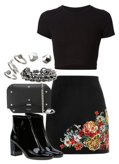 """""""Sem título #1236"""" by manoella-f on Polyvore featuring moda, River Island, Getting Back To Square One, Givenchy, Yves Saint Laurent, Burberry, Kendra Scott e NOVICA"""