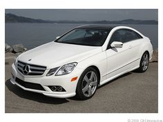 mercedes benz e550 - The most exciting sedan ever.