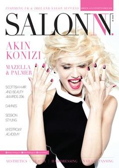SalonNV Issue 9  Interviews with 4-time British Hairdresser of the Year Akin Konizi and Jean-Baptiste of Mazella&Palmer headline this fantastic issue. Sophie Harris-Greenslade, session stylist for OPI and The Illustrated Nail on Tumblr talks her incredible career, while Davines' Angelo Seminara took us Behind the Brand. All that plus so much more!