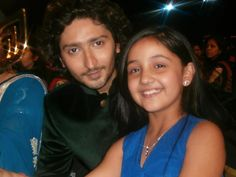 With Ashnoor at award Show