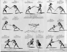 The image above shows different scenes featuring combat of some kind, thus interesting me in the way it sets out the differing combat tactics. It uses a range of different design elements and principles such as, line, shape, contrast and balance.