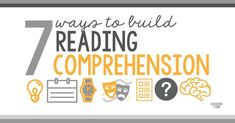 Simple strategies to build reading comprehension in primary students. Improve your students' reading comprehension with these essential components of literacy!