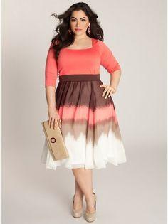 Blythe Plus Size Dress from @IGIGI by Yuliya Raquel
