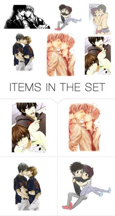 """""""Which anime couple would we be?"""" by kawaii-kittens2 ❤ liked on Polyvore featuring art"""