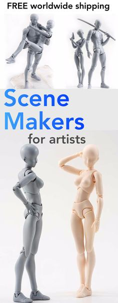 Body-Kun -Models for Artists - Scene Makers