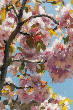 Jan De Vliegher, Blossom 5, 2011. Oil on canvas   Galerie Zwart Huis