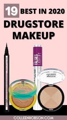 Check out our updated list of the best drugstore makeup products worthy of holy grail status in 2020. #bestdrugstoremakeup Best Drugstore Makeup, Makeup Dupes, Makeup Products, Beauty Products, Makeup Must Haves, Cheap Makeup, Falsies, Makeup Techniques, Maybelline