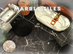 Marble Tiles by Cross Architecture for The Sims 4