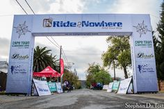 This is where it all STARTS and FINISH at the Ride2Nowhere 2014 www.ride2nowhere.co.za