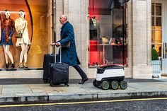 Delivery robot by Starship Technologies. Design by Aivan.