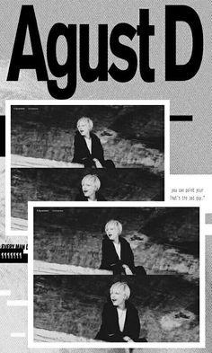BTS / Agust D / Wallpaper  ©mellsy_m