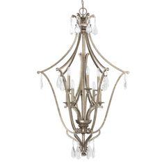 Capital Lighting Montclaire Collection 8-light Painted Mystic Foyer/Pendant/Chandelier Light