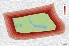 luxury maps :: audi - Pedro Rosa | Art Director