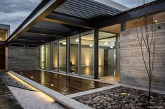 Liking the suspended deck idea. Gallery of TCH House / Arkylab