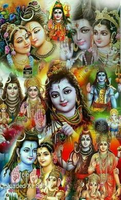 Umaapati.Gourisankar.siva, sivagaami......so many names you call them with love as you can.