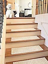 easton nonslip rug u0026 stair tread set linensource