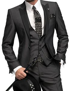that is one nice suit Men's Jewellery #mensfashion #mensjewellery www.urban-male.com