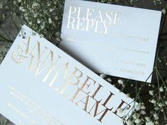 Annabelle Wedding Invitation Suite