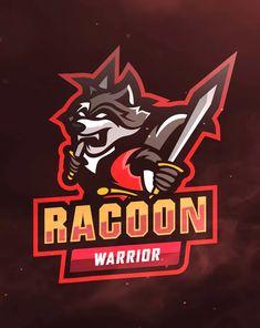 Racoon Warrior Sport and Esports Logo by ovozdigital on Envato Elements Iphone Wallpaper Nba, Warrior Sports, Esports Logo, Racoon, Egyptian Art, Logo Templates, Animal, Egypt Art, Animals