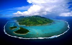 Moorea Island French Polynesia http://goo.gl/Jt2NfH