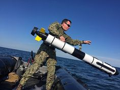 TODENDORF, Germany (June 6, 2017) A member of Platoon 802, a mine countermeasures platoon assigned to Explosive Ordnance Disposal Mobile Unit (EODMU) 8, conducts mine countermeasures search operations in the western Baltic Sea as part of exercise BALTOPS 17 in Todendorf, Germany, June 6, 2017. BALTOPS 17 is the premier annual maritime-focused exercise in the Baltic region and one of the largest exercises in Northern Europe.(U.S. Navy photo by Lt. Benjamin Fernandez/Released)