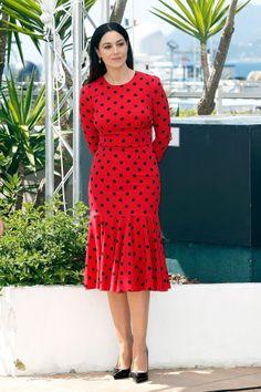 Monica Bellucci in Dolce  Gabbana