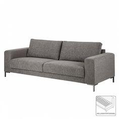 Sofa Summer (3-Sitzer) - Stoff Hellgrau