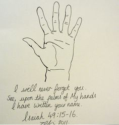 Isaiah 49:16 - Google Search