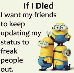 Funny Minion Quotes 008 27 Funny Pics That'll Inject Some Happy Into Your Life Minion Quotes & Memes 30 Hilarious Minions Jokes Top 30 Very Funny Texts 50 Hilariously Funny Minion Quotes With Attitude… Funny Signs That'll Fill Your Mout. Funny Minion Pictures, Funny Minion Memes, Crazy Funny Memes, Minions Quotes, Funny Puns, Really Funny Memes, Funny Laugh, Funny Relatable Memes, Haha Funny