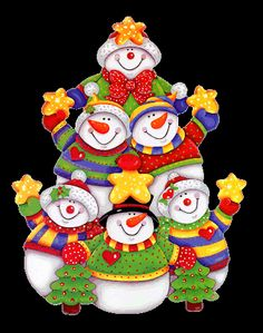 Christmas Snowman Group