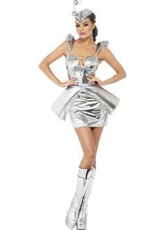 Ladies Sexy Alien Space Girl Costume ladies sexy alien space girl costume [29610], £17.95, Cheap Fancy Dress Outfits and Costumes, Cheapest Fancy Dress Costumes and Accessories