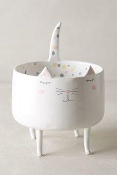 Ceramic Cat Trinket Dish | Marta Turowska