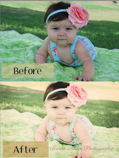 Edit in Photoshop Elements 10 Before and After using free actions