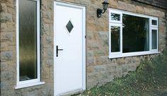 Composite Rear Entrance Door