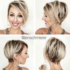 70 Overwhelming Ideas for Short Choppy Haircuts - - Long Blonde Pixie With Black Roots Short Choppy Haircuts, Choppy Cut, Blonde Haircuts, Messy Short Hair, Short Hair Cuts, Short Hair Styles, Blonde Pixie, Short Blonde, Ash Blonde