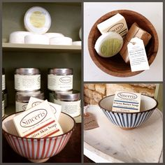 Sinceris - products handmade in Wiltshire.