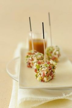amuse-bouche-foie-gras OR could be tuna with sesame