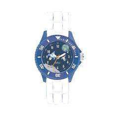 Colori kinderhorloge Ruimtevaart wit 30 mm 5-CLK087. Op zoek naar een stoer horloge voor jouw kleine mannetje?  Dan is dit Colori kidz horloge het item om te hebben! Dit horloge is voorzien van een topring waar de grote minuten makkelijk van af te lezen zijn. De geschakelde siliconen horlogeband geeft dit kinderhorloge een extra stoere look. Verder is het horloge voorzien van een 30 mm horlogekast en heeft een waterdichtheid van 5ATM (spat- en regenwater).