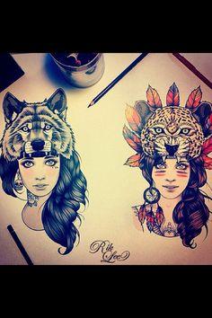 By illustrator Rik Lee.