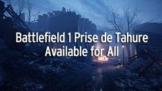If you are a night map kind of player you will be happy to hear that the Battlefield 1 Prise de Tahure map is available to all players not just premium. This map is originally a extra map for the Battlefield 1 They Shall Not Pass expansion pack and is French themed. http://battlefieldinformer.com/battlefield-1-prise-de-tahure-available/