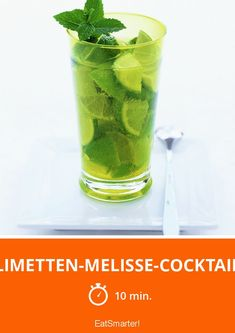 Limetten Melisse Cocktail Rezept Cocktail Limetten Alkohol Getranke Rezepte