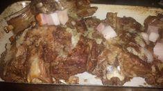 Sült bárányborda ahogy a férjem szereti Pork, Kale Stir Fry, Pork Chops